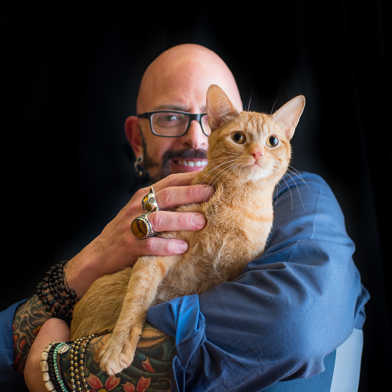 Interview jackson galaxy star of animal planet s my cat for Jackson galaxy phone number